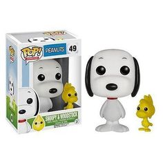 Snoopy and his pal Woodstock are always up for a little adventure.as long as they're home in time for dinner. Whether you're working on your very own great American novel or contemplating aerial combat with the notorious Red baron, place the Peanuts Snoopy and Woodstock Pop! Vinyl Figures on your desk for a little inspiration. A classic Charles Schulz character, Snoopy measures approximately 3 3/4-inches tall. #funko #popvinyl #actionfigure #collectible #SnoopyandWoodstock