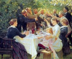 Hip hip hurra Kroyer 1888 - Peder Severin Krøyer - Wikipedia
