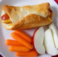 Pigs in a Blanket- kid friendly freezer dinner