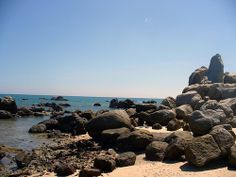 """As one of the most wildest and beautiful beaches of Vietnam, Ca Na Beach, the """"Sleeping Princess"""" of Ninh Thuan province, is warmly beckoning tourists."""