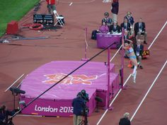 Saturday 11th August. Olympic Park. Women's High Jump Final