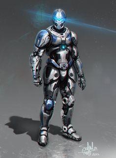 Resultado de imagen para armadura robotica anime