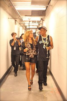 This is just a hard picture of Jigga and his lady B! I can't front!