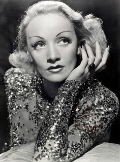 a5ebe700e157e3 Stage and Screen Cinema Personalities pic circa 1930's German born film  actress Marlene Dietrich who later