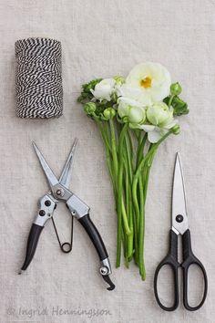 Flower Arranging Tips-Ingrid Henningsson-Of Spring and Summer