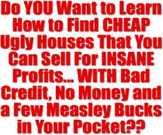 Wholesaling Houses: Quick Cash Real Estate Investing!