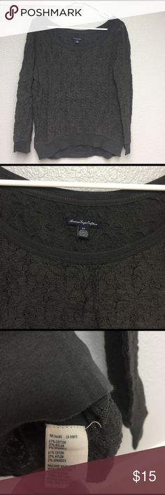 American Eagle cute top size Small American Eagle cute top size Small American Eagle Outfitters Tops Tees - Long Sleeve