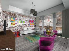 Roomstyler.com - pop art room