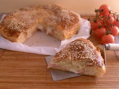 Focaccia di pan brioche farcita con lievito madre _ Creando si impara
