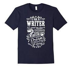 Men's I am a Writer Large Navy Trending Now TShirts http://www.amazon.com/dp/B01FA1MCPE/ref=cm_sw_r_pi_dp_6e2sxb0DRBDNJ
