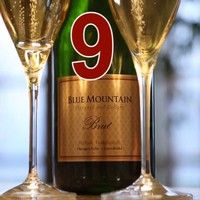 Cheers! Blue Mountain Vineyard and Cellars Advent Calendar #9.  Click here to see the video: https://www.facebook.com/BlueMountainVineyard/posts/767133719970030