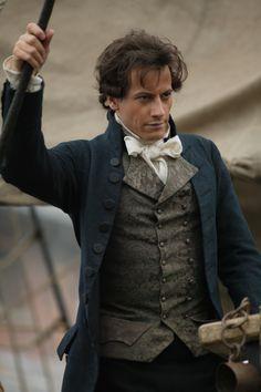 Ioan Gruffudd as William Wilberforce.