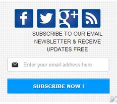 How to add Professional Social Subscribe Now Widget on Blogger - My World