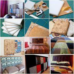 DIY Soft Bed Headboard