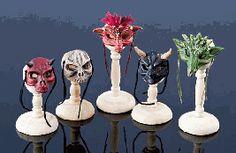 Halloween Masks Barbie Halloween Costume, Halloween Candy, Halloween Masks, Halloween Decorations, Dollhouse Toys, Dollhouse Miniatures, Barbie Wardrobe, Mask Shop, Tiny World