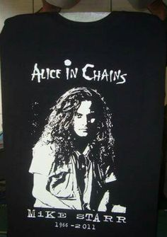 Mike Starr T-shirt on ebay