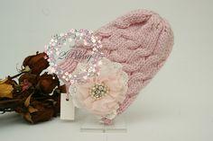 Embellished beanies, vintage inspired, #Crochetkufihat #australiasupplier #sequin #lace flower