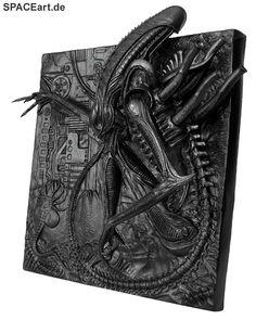 Alien: Silent Killer 3D Wallplaque ... http://spaceart.de/produkte/al011.php