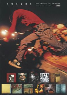 Fugazi discography. Yes, please.  All of them.