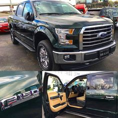 Just in time for St. Patrick's Day!!! Make your friends GREEN with ENVY and come in and get this F-150 XLT starting at $33,950!!!   Call for more information at 913-710-5034 or visit our website at BobAllenFord.com