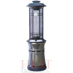 patio heaters   Santorini Spiral Flame Gas Patio Heater - Heat Outdoors