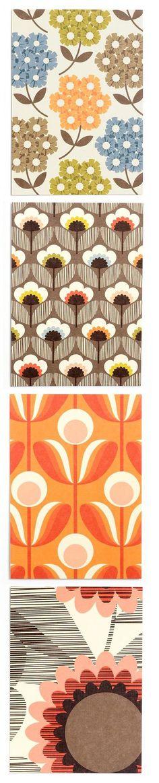 Orla Kiely patterns.