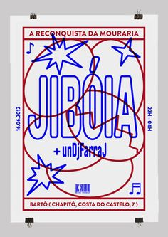 mrgrdbrgs:  I did this poster for Jibóia's next show in Bartô,...