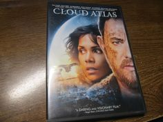 DVD and Ultra Violet Code called Cloud Atlas with Tom Hanks and Halle Berry
