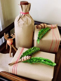 Cool DIY Christmas Gift Wrapping Ideas