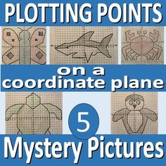 Fun activity for students to learn how to graph a point on a cartesian plane. As students plot the coordinates, and connect the points, the fun image appears