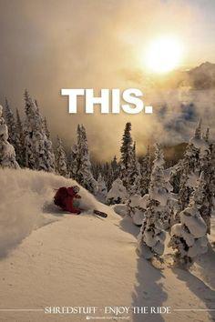 Voy a ir a esquiar en las montañas de Virginia.