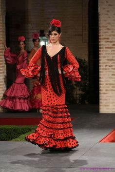 Traje de Flamenca - Angeles-Copete- - Pasarela-Wappissima-2014-