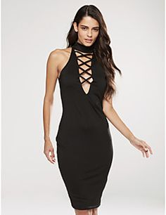 Women's+Formal+/+Party+Sexy+Bodycon+Dress,Solid+V+Neck+Mini+Long+Sleeve+Red+/+Black+Cotton+/+Spandex+Spring+/+Fall+Mid+Rise+–+USD+$+16.99