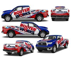 Attention grabbing truck wrap design is needed for RooterWorks by j.chaushev