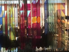 Colorful #stained glass #decoration #glass #wall