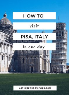 Looking for a cheap hotel in Pisa? There's really only one big reason masses come to Pisa, and that's to see the well-known leaning tower. Europe Travel Tips, Places To Travel, Places To Go, Travel Destinations, Travel Guide, Pisa Italy, Tuscany Italy, Italy Italy, European Destination