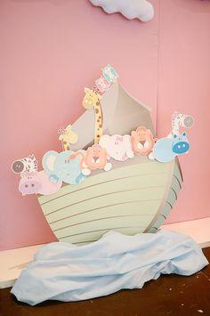 Primer cumpleaños inspirado en el Arca de Noe