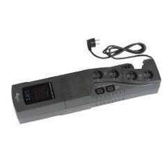 Vendo Gruppo di continuità funzionante ma da cambiare batteria Dati Tecnici Potenza (VA/W) 700 VA / 300 W Interfaccia RS232 con software UPSilon2K incluso, Protezione linee dati Protezione RJ-45 Modem/fax/DSL/10-100 Base-T Formato Desktop Autonomia [Pieno carico(375W) circa 150s, Metà carico(185W) c...