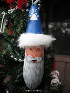 University of Kentucky Wildcats OR YOUR SCHOOL Santa Fan Lightbulb Or…