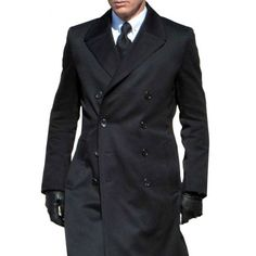 James Bond Bridge Coat from Spectre is here. Daniel Craig got the chance to wear this James Bond Overcoat and now is your turn. Crombie Coat, Fashion Brenda, Daniel Craig James Bond, Blue Trench Coat, Bespoke Tailoring, Grown Man, Your Turn, Suit And Tie, Gentleman Style