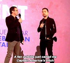 "Sebastian ✪ Stan ""Captain America Bitch"""