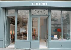 Colonel's New Paris Shop : Remodelista