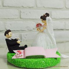 Photo mania photographer custom wedding cake topper by annacrafts, $180.00