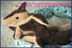 Kuschelfreunde linkparty Selbstgemachte Kuschel-tiere, -Decken, -Kissen oder oder