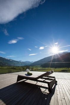 The rooms of the Sportresidenz Zillertal with a view of the Zillertal mountains and the Hochzillertal ski region Airplane View, Skiing, Golf Courses, Scenery, Relax, Boutique, Mountains, Nature, Sports