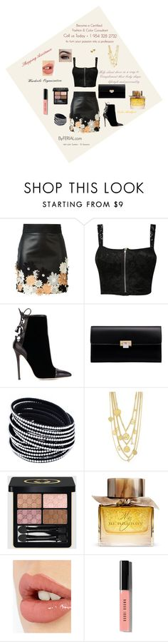 """Become a Certified Fashion Stylist & Image Consultant"" by byferial on Polyvore featuring Emanuel Ungaro, Pilot, Brian Atwood, Balenciaga, Juicy Couture, Gucci, Burberry, Charlotte Tilbury, Bobbi Brown Cosmetics and Chanel"