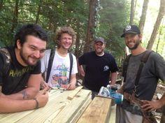 Custom Homes - Duinkerken Homes - Our amazing crew: Sam, Graham, Brandon and John