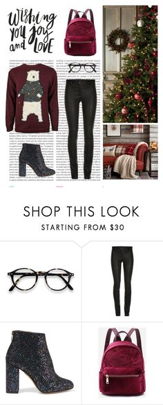 """Xmas vol.1"" by dorey on Polyvore featuring Oris, ElleSD and Charlotte Olympia"
