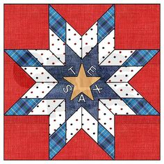 This jewelry / trinket box is based on the Texas Star Quilt pattern. A neat gift for quilters or for Texans!