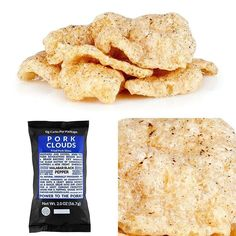 From @ketokrate We featured Pork Clouds in the November '15 Keto Krate  Pork Clouds are wonderfully fluffy crisps made from salt cured pork skin: so fluffy that they cannot reasonably call them pork rinds and had to change the name  Try all four flavors:  Cinnamon Ceylon Rosemary & Sea Salt Malabar Black Pepper and Habañero  Net carbs (per serving): 0g  www.baconsheir.com  #keto #ketomeals #lchf #lowcarb #highfat #atkins #bestdietever #whatdiet #fatisfuel #ketogenic #kcko #eatfatloseweight…